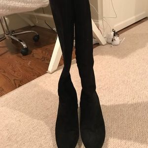 Shoes - Cole Haan suede back wedge boots